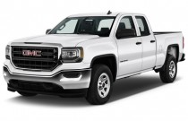 "2017 GMC Sierra 1500 2WD Double Cab 143.5"" Angular Front Exterior View"
