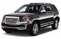 2017 GMC Terrain FWD 4-door Denali Angular Front Exterior View
