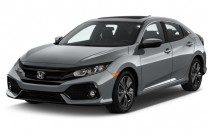 2017 Honda Civic Hatchback EX CVT Angular Front Exterior View
