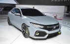 2017 Honda Civic Hatchback to offer turbo engine, 6-speed manual: Live photos