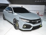 2017 Honda Civic Hatchback prototype, 2016 New York Auto Show