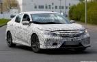 2017 Honda Civic Hatchback spy shots