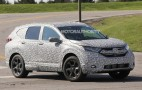 2017 Honda CR-V spy shots