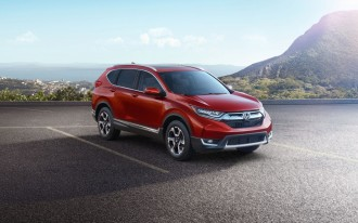 Value-packed 2017 Honda CR-V unveiled