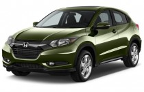 2017 Honda HR-V EX 2WD Manual Angular Front Exterior View