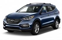 2017 Hyundai Santa Fe Sport 2.4L Automatic Angular Front Exterior View