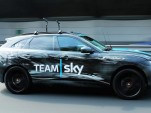 2017 Jaguar F-Pace serves as 2015 Tour de France support vehicle