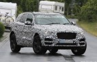 2017 Jaguar F-Pace Spy Shots