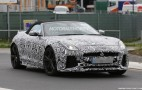2017 Jaguar F-Type SVR Convertible Spy Shots