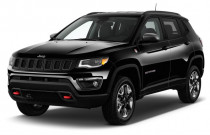 2017 Jeep Compass Trailhawk 4x4 Angular Front Exterior View