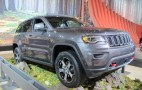 2017 Jeep Grand Cherokee Trailhawk ready to go off-road: Live photos