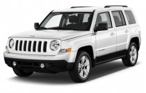 2017 Jeep Patriot X Latitude FWD Angular Front Exterior View