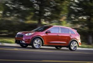 2017 Kia Niro Hybrid Crossover Utility Vehicle Debuts At Chicago Auto Show