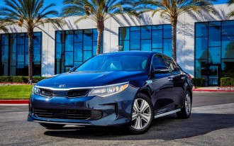 2017 Kia Optima Hybrid Preview Video