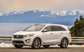 Kia Sorento rated Top Safety Pick+ by IIHS