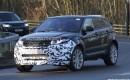 2016 Land Rover Range Rover Evoque facelift spy shots - Image via S. Baldauf/SB-Medien