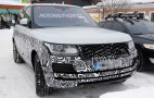 2017 Land Rover Range Rover spy shots