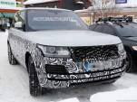 2017 Land Rover Range Rover facelift spy shots - Image via S. Baldauf/SB-Medien