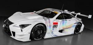 2017 Lexus LC GT500 Super GT race car