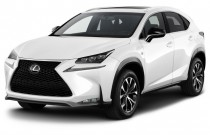 2017 Lexus NX NX Turbo F Sport FWD Angular Front Exterior View