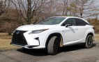 2017 Lexus RX 450h hybrid gas mileage review