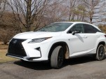 2017 Lexus RX 450h, Catskill Mountains, NY, Feb 2017