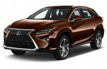 2017 Lexus RX RX 450h AWD Angular Front Exterior View