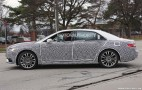 2017 Lincoln Continental Spy Shots