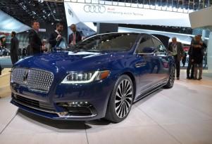 2017 Lincoln Continental, 2016 Detroit Auto Show