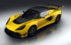 Lotus Exige Sport 380 spawns dedicated track model