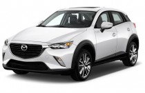 2017 Mazda CX-3 Touring AWD Angular Front Exterior View