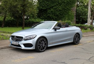 2017 Mercedes-AMG C43 Cabrio (European version), Trieste region, May 2016