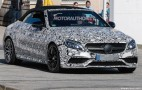 2017 Mercedes-AMG C63 Cabriolet Spy Shots