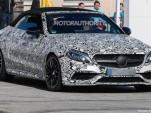 2017 Mercedes-AMG C63 Cabriolet spy shots - Image via S. Baldauf/SB-Medien