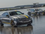 2017 Mercedes-AMG C63 Coupe Edition 1 and 2016 C63 DTM race car