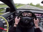 2017 Mercedes-AMG E63 S has a top speed of 187 miles per hour