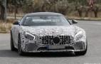 2017 Mercedes-AMG GT R spy shots