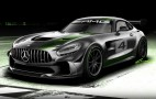 Mercedes-AMG previews GT4 race car