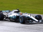 2017 Mercedes AMG W08 EQ Power+ Formula One race car