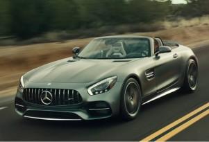 Mercedes-AMG GT Roadster in Super Bowl commercial