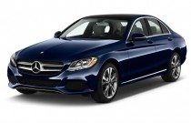 2017 Mercedes-Benz C Class C 300 Sedan Angular Front Exterior View