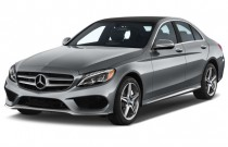 2017 Mercedes-Benz C Class C300 Sedan with Sport Pkg Angular Front Exterior View