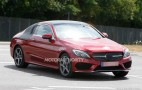 2017 Mercedes-Benz C-Class Coupe Spy Shots