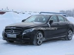 2017 Mercedes-Benz C-Class tech update spy shots - Image via S. Baldauf/SB-Medien