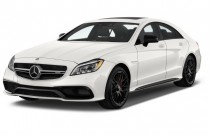 2017 Mercedes-Benz CLS AMG CLS 63 S 4MATIC Coupe Angular Front Exterior View