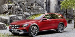2017 Mercedes-Benz E-Class All-Terrain (European spec)