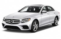 2017 Mercedes-Benz E Class E300 Sport RWD Sedan Angular Front Exterior View