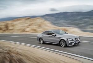 2017 Mercedes-Benz E-Class leaked - Image via Auto-Press