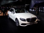 2017 Mercedes-Benz E-Class  -  2016 Detroit Auto Show live photos