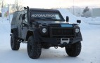 2017 Mercedes-Benz G-Class LAPV spy shots